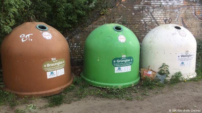 Three glass containers (DW/Elizabeth Greiner)