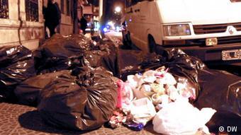 Argentinien Buenos Aires - Cartoneros sammeln Müll (DW)