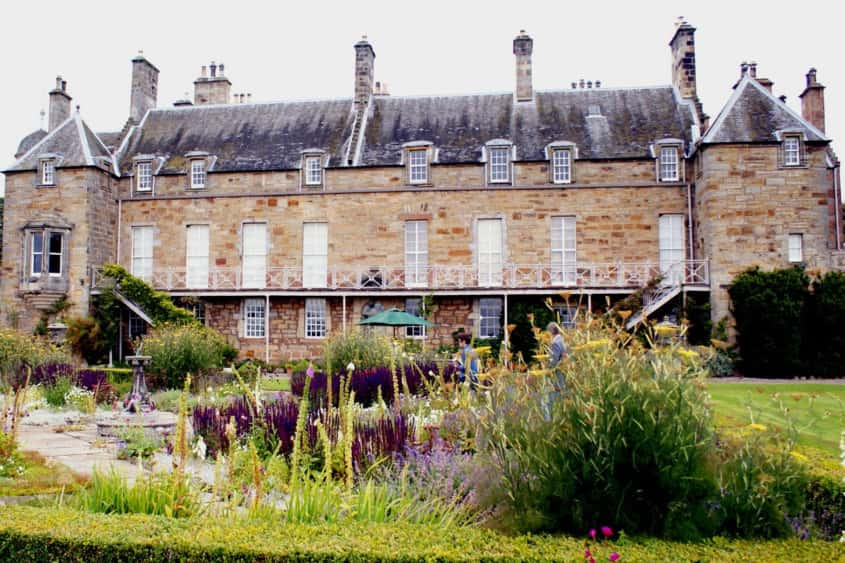 Estate management...is key at Balcaskie, which has been home to the Anstruther family since 1698. Today, there's a gardening team to keep the grounds in picture perfect condition.