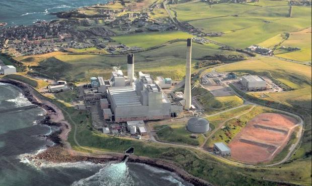The Peterhead Carbon Capture and Storage (CCS) project in Aberdeenshire UK.